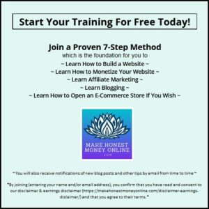 Start Your Training For Free Today